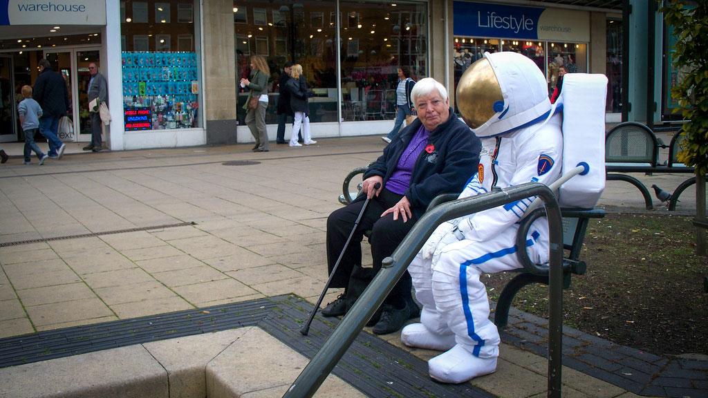 Astronaut costume for short film.