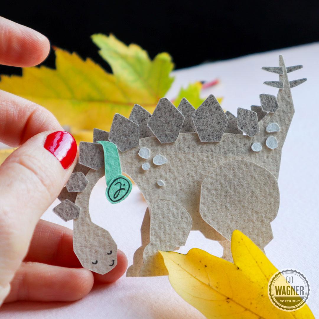 Dinosaur children's art.
